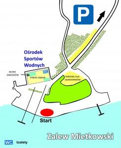 mapa-parking dla zawodników